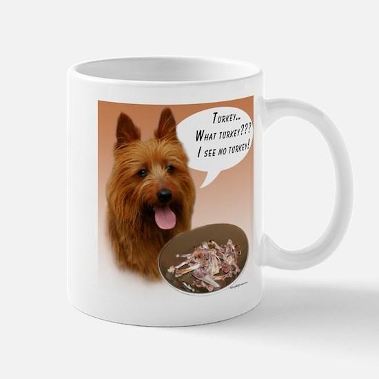 Aussie Terrier Turkey Mug