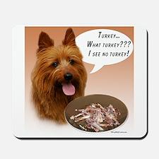 Aussie Terrier Turkey Mousepad