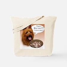 Aussie Terrier Turkey Tote Bag