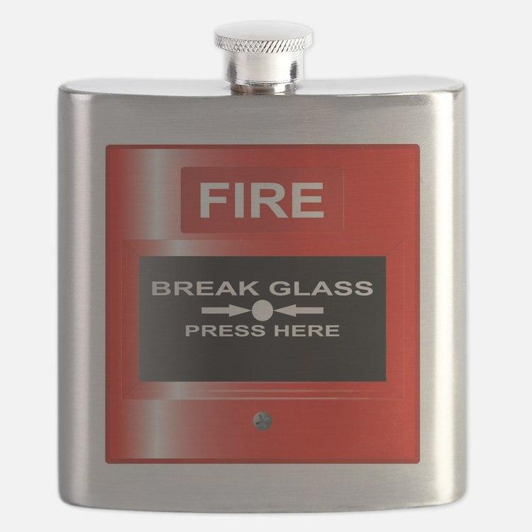 Cute Alarm Flask