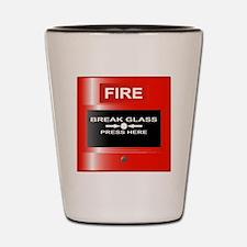 Cool Fire Shot Glass