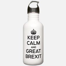 Keep Calm Great Brexit Water Bottle