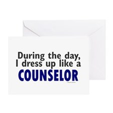 Dress Up Like A Counselor Greeting Card