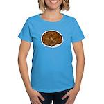 Sleeping Cat Women's Dark T-Shirt