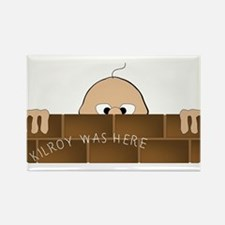 Kilroy Was Here Magnets
