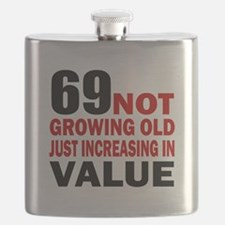 69 Not Growing Old Flask