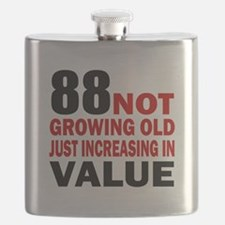 88 Not Growing Old Flask