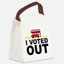 I Voted OUT Canvas Lunch Bag