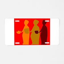 Three Wise Men Aluminum License Plate
