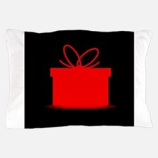 Present In A Red Box Pillow Case