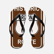 Arizona Historic Route 66 Flip Flops
