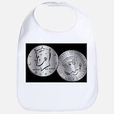 US Half Dollar Coin Bib