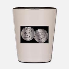 US Half Dollar Coin Shot Glass