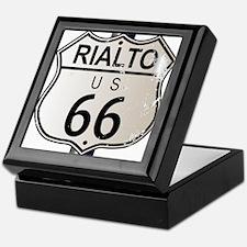 Rialto Route 66 Sign Keepsake Box