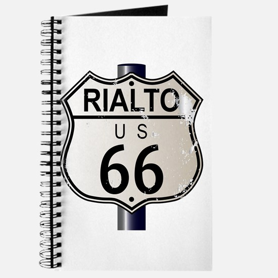 Rialto Route 66 Sign Journal