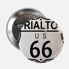 "Rialto Route 66 Sign 2.25"" Button"