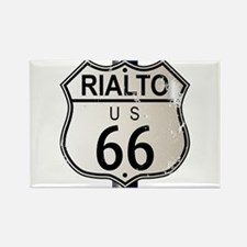 Rialto Route 66 Sign Magnets