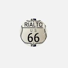 Rialto Route 66 Sign Mini Button