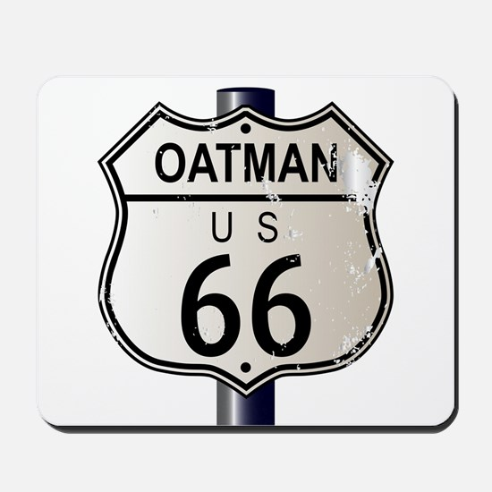 Oatman Route 66 Sign Mousepad