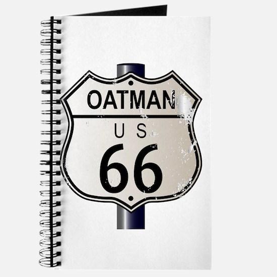 Oatman Route 66 Sign Journal