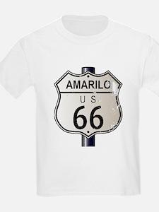 Amarillo Route 66 Sign T-Shirt