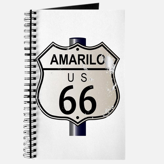 Amarillo Route 66 Sign Journal