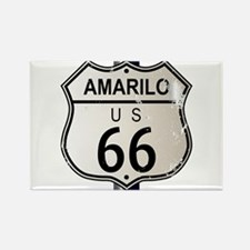 Amarillo Route 66 Sign Magnets