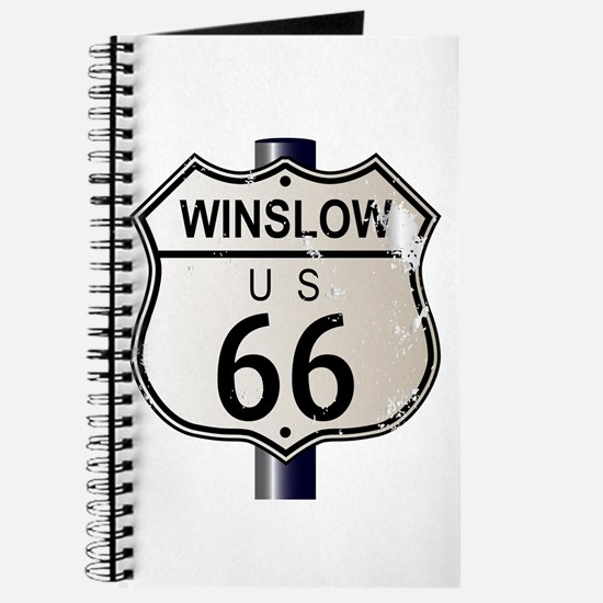 Winslow Route 66 Sign Journal