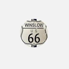 Winslow Route 66 Sign Mini Button