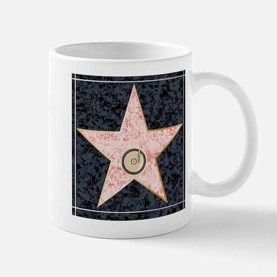 Hollywood Music Walk of Fame Mugs