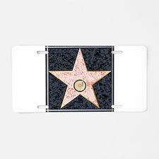 Hollywood Music Walk of Fam Aluminum License Plate
