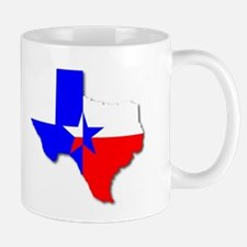 Texan Background Mugs