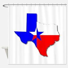 Texan Background Shower Curtain