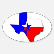 Texan Background Decal