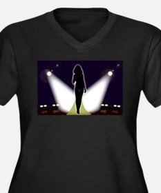On Stage Plus Size T-Shirt