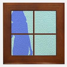 Unique Distorted Framed Tile
