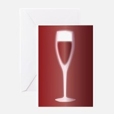 Red Wine Greeting Cards