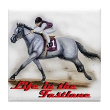 Race Horse, Life in the fastl Tile Coaster