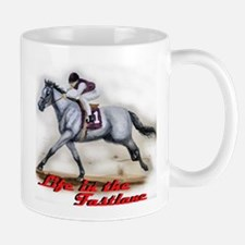 Race Horse, Life in the fastl Mug