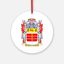 Woodward Round Ornament