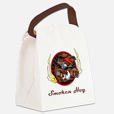 Cute Hog Canvas Lunch Bag