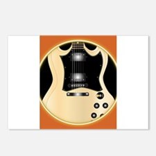 Solid Guitar Postcards (Package of 8)