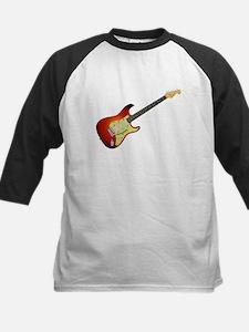 Sunburst Electric Guitar Baseball Jersey