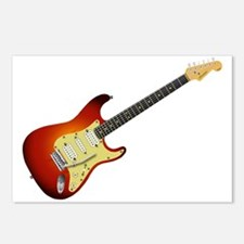 Sunburst Electric Guitar Postcards (Package of 8)