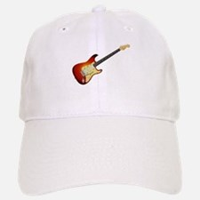 Sunburst Electric Guitar Baseball Baseball Cap