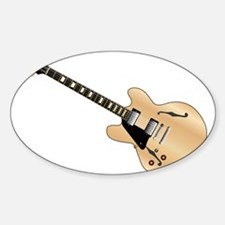Left Handed Guitart Decal