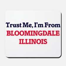 Trust Me, I'm from Bloomingdale Illinois Mousepad