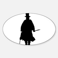 Jack the Ripper Silhouette Decal