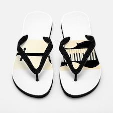 Honkeytonk Fiddle Flip Flops