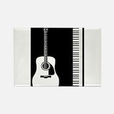 Guitar Piano Duo Magnets